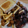 Rib dinner at Turkey Creek BBQ in Lahoma. The restaurant has reopened after being closed for over a year. (Billy Hefton / Enid News & Eagle)