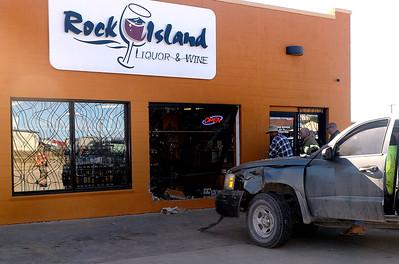 Truck vs Liquor Store