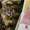 Angels hang on the Angel Tree at the Salvation Army Angel Tree store inside Oakwood Mall Friday November 30, 2018. The last day to donate to the Angel Tree program is December 15. (Billy Hefton / Enid News & Eagle)