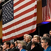Members of the Singing Churchwomen and Churchmen of Oklahoma perform during the Celebrate America concert Thursday November 15, 2018 at the Central National Bank Center. (Billy Hefton / Enid News & Eagle)
