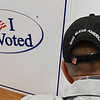 Gary Pekrul takes advantage of early voting for the November 6 election Thursday at the Garfield County Election Board. Early voting continues today 8-6 and Saturday 9-2. (Billy Hefton / Enid News & Eagle)