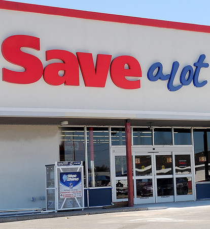 The newest Save a Lot Food Store, in Van Buren Square, is slated to open Monday. (Staff Photo by BONNIE VCULEK)
