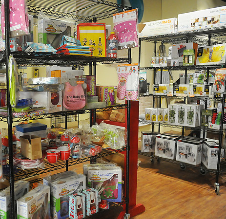 The new Downtown Kitchen Store on Grand will have a wide selection of cooking assessories and unique gift items. (Staff Photo by BONNIE VCULEK)