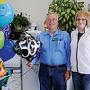 Bob and Debbie Perry, with Advanced Water Solutions and Ecowater Systems of Enid at 1509 S. Van Buren, celebrate the company's 50th anniversary Thursday, Oct. 24, 2013. (Staff Photo by BONNIE VCULEK)