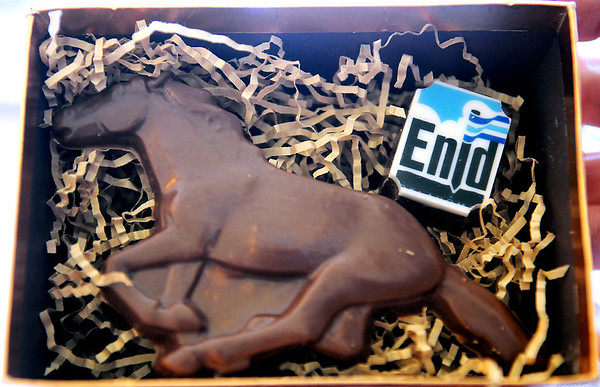 New Enid Brand Chocolates (Staff Photo by BONNIE VCULEK)
