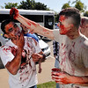 Zombies prepare for the Vance Zombie Run Thursday at Vance Air Force Base. (Staff Photo by BILLY HEFTON)