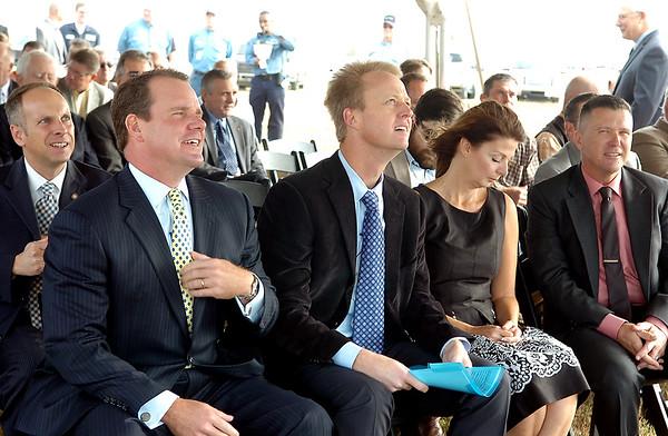 KOCH Nitrogen Company, LLC Groundbreaking Ceremony (Staff Photo by BONNIE VCULEK)