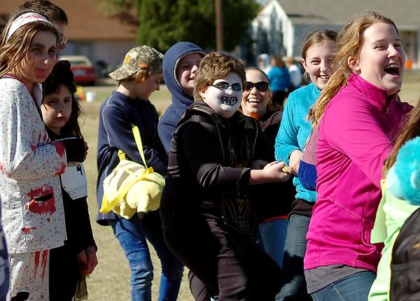 Waller Zombie 5K festivities Friday, Oct. 31, 2014. (Staff Photo by BONNIE VCULEK)