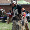 Dennis Begay dances during the 16th Pow Wow at the Leona Mitchell Southern Heights Heritage Center and Museum Saturday October 1, 2016. (Billy Hefton / Enid News & Eagle)