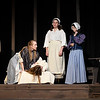 "Cast members rehearse the Gaslight Theater production of ""The Crucible""  Wednesday October 18, 2017. (Billy Hefton / Enid News & Eagle)"