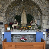Our Lady of Fatima shrine at St. Joseph Catholic Church in Bison. (Billy Hefton / Enid News & Eagle)
