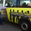 Craig Vance, Chapter Service Officer for the Disabled American Veterans, stands next to the organization's van Thursday October 26, 2017. (Billy Hefton / Enid News & Eagle)