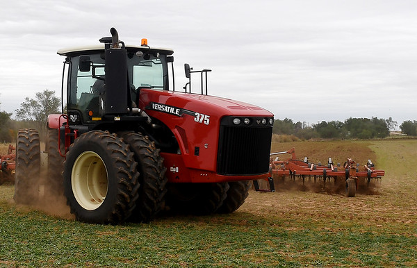 Prepping Farm Land