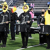 Members of the Enid High marching band perform during pregame of the Enid v Santa Fe football game Friday October 30, 2020 at D. Bruce Selby Stadium. (Billy Hefton / Enid News & Eagle)