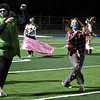 Members of the Enid High School Show Choir dance during halftime of the Enid v Santa Fe football game Friday October 30, 2020 at D. Bruce Selby Stadium. (Billy Hefton / Enid News & Eagle)