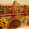 Retired Enid firefighter and avid hunter, Danny Weldon, passed away Sunday Sept. 8, 2013. Weldon's unique casket was designed and created by one of his neighbors. (Staff Photo by BONNIE VCULEK)