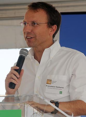 Francesco Venturini, Enel Green Power North America (Staff Photo by BONNIE VCULEK)