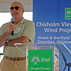 Frank Costanza, from TradeWind Energy (Staff Photo by BONNIE VCULEK)