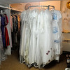 In addition to wedding gowns and men's tuxedos, University Place Christian Church also has wedding attire and assessories for bridesmaids, flower girls, ring bearers, and mothers of the bride and groom. Simply beautiful weddings may be planned at the church for reasonable prices. (Staff Photo by BONNIE VCULEK)