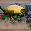 An area farmer prepares his acreage for planting wheat Thursday, Sept. 26, 2013. (Staff Photo by BONNIE VCULEK)