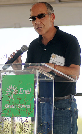 Francesco Starace, Enel Green Power North America (Staff Photo by BONNIE VCULEK)