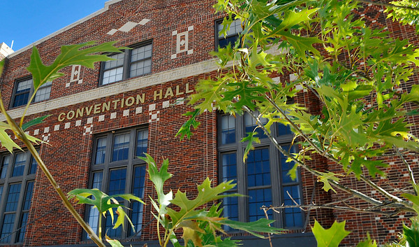 The renovated Convention Hall will host it's first state wide convention when the Oklahoma Museum Association holds it's fall conference here September 25-27. (Staff Photo by BILLY HEFTON)
