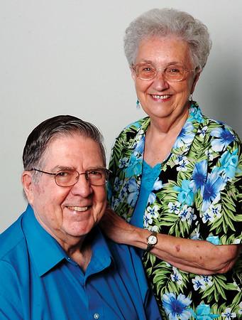 Harold and Martha Hatt (Staff Photo by BONNIE VCULEK)
