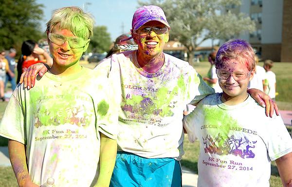 Color Stampede (Staff Photo by BONNIE VCULEK)