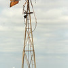A blade less windmill appears in a field on East Flynn Road, south of Waukomis, after a severe thunderstorm moved across Garfield County Monday, Sept. 1, 2014. (Staff Photo by BONNIE VCULEK)