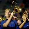 EHS Big Blue Band (Staff Photo by BONNIE VCULEK)