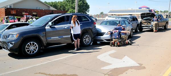 4-Car Injury Accident