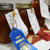 Canned vegetables at the Garfield County Fair Thursday September 7, 2017 at the Chisholm Trail Expo Center. (Billy Hefton / Enid News & Eagle)