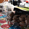 Chocolate treats from Eat It Up Cafe in Hennessey during the Hennessey Wine and Chocolate Festival Saturday September 9, 2017. (Billy Hefton / Enid News & Eagle)