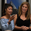 Michelle Malkin and Jenny Holtzclaw Daniel Holtzclaw from prison following a showing of the CRTV program, Michelle Malin Investigates, Saturday September 9, 2017 featuring the Holtzclaw case. (Billy Hefton / Enid News & Eagle)