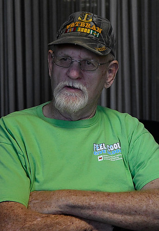 Bob Roberts during an interview September 6, 2017. (Billy Hefton / Enid News & Eagle)