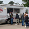 The Salvation Army mobile kitchen providing mealsFriday, September 11, 2020. (Billy Hefton / Enid News & Eagle)