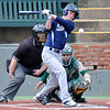 Enid's Tanner Lingenfelter makes contact against Muskogee Monday April 18, 2016 at David Allen Ballpark. (Billy Hefton / Enid News & Eagle)
