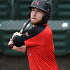 NOC Enid's Matt Conerly hits a single against Connors State Monday April 2, 2018 at David Allen Memorial Ballpark. (Billy Hefton / Enid News & Eagle)
