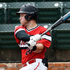 NOC Enid's Alec Buonasera hits a single against NOC Tonkawa Wednesday April 10, 2019 at David Allen Memorial Ballpark. (Billy Hefton / Enid News & Eagle)