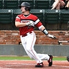 NOC Enid's Tanner Neely hits a double against NOC Tonkawa Wednesday April 10, 2019 at David Allen Memorial Ballpark. (Billy Hefton / Enid News & Eagle)