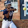 Enid's Alicia Chain bats against Putnam City Monday at Pacer Field. (Staff Photo by BILLY HEFTON)