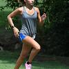 Enid cross country runner, Alexazandria Hernandez, works out Friday August 11, 2017. (Billy Hefton / Enid News & Eagle)