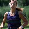 Enid's Lizzie Ostermaier during cross country practice Wednesday August 8, 2018 at Northern Hills Golf Course on the NOC campus. (Billy Hefton / Enid News & Eagle)