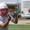 Chisholm's Tristan Crosswhite during the first day of practice Monday, August 10, 2021 at Chisholm High School. (Billy Hefton / Enid News & Eagle)