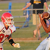 Waukomis vs Kremlin-Hillsdale. (Staff Photo by BILLY HEFTON)