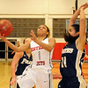 NOC Lady Jets' Kiara Moore (Staff Photo by BONNIE VCULEK)