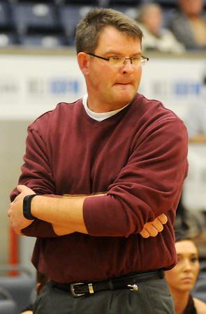 Pioneer head coach David Norton (Staff Photo by BONNIE VCULEK)