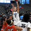Enid's Ashley Handing shoots against U.S. Grant during the Enid Holiday Classic Basketball Tournament Friday December 29, 2017 at the Central National Bank Center. (Billy Hefton / Enid News & Eagle)