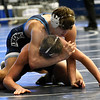 Enid;s Chance Davis takes control of his opponent during the Mid America Nationals Tournament Friday, December 13, 2019 at the Stride Bank Center. (Billy Hefton / Enid News & Eagle)
