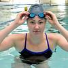 Enid High swimmer, Hunter Mceachern. (Staff Photo by BILLY HEFTON)